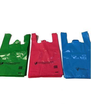 Sacs bretelles BD couleurs - 50µ - réutilisables
