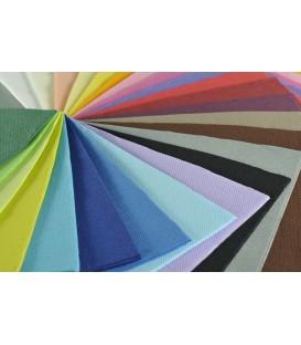Serviettes deux plis couleurs