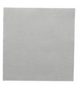 Serviettes voie sèche non tissé gris perle 40X40 CM