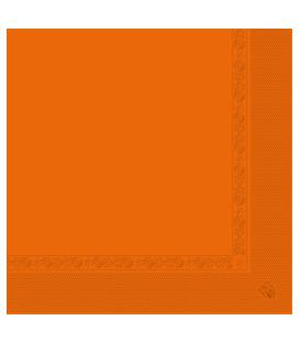 Serviettes 2 plis abricot 30x39 cm