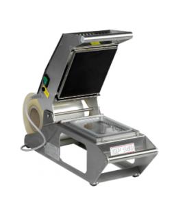 Machine d'operculage barquettes manuelle inox
